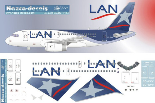 1/144 Scale Decal LAN A-318