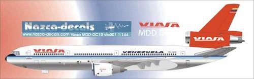 1/144 Scale Decal Viasa DC10-30