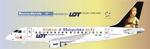 1/144 Scale Decal LOT Emberair 170 Krakow City