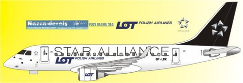 1/144 Scale Decal LOT Emberair 170 STAR ALLIANCE
