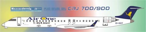 1/144 Scale Decal Air One CRJ-700 / 900