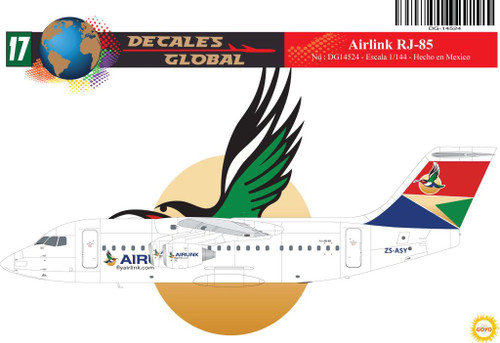 1/144 Scale Decal Airlink RJ-85
