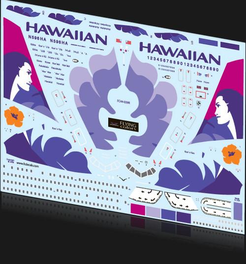 1/144 Scale Decal Hawaiian 767-300