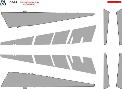 1/144 Scale Decal 757 Coroguard