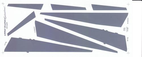 1/144 Scale Decal Coroguard 757-200