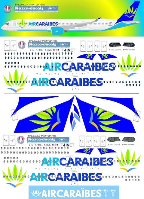 1/144 Scale Decal Air Caraibes A-350-1000