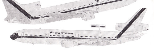 1/200 Scale Decal Eastern DC-10 / L-1011