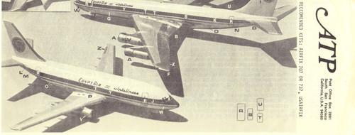 1/144 Scale Decal EgyptAir 707 / 737