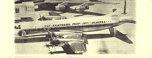 1/144 Scale Decals Eastern Electra 1959