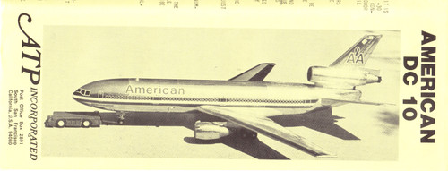 1/144 Scale Decals American DC10-30