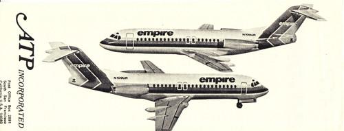 1/144 Scale Decal Empire F-28