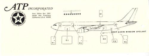 1/144 Scale Decal Cockpit / Windows / Doors A-300