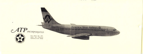 1/144 Scale Decal America West 737-200
