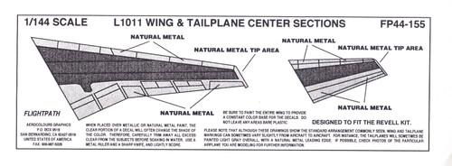 1/144 Scale Decal L-1011 COROGUARD