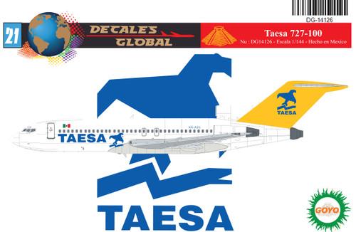 1/144 Scale Decal Taesa 727-100