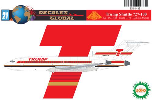 1/144 Scale Decal Trump Shuttle 727-100