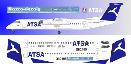 1/144 Scale Decal ATSA Dash-8-400Q