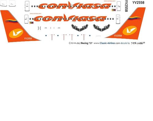 1/500 Scale Decal Conviasa 737-200