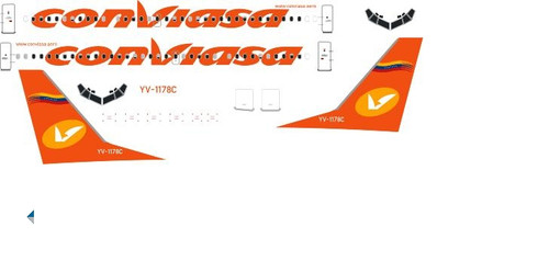 1/500 Scale Decal Conviasa 737-300