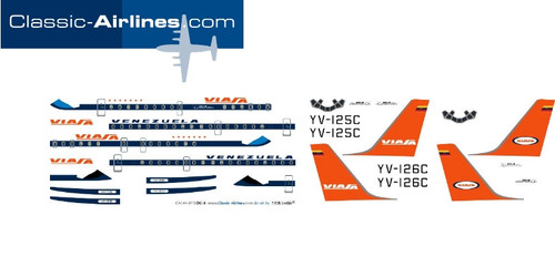 1/500 Scale Decal Viasa DC-8