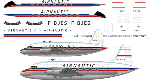 1/144 Scale Decal Airnautic Viking 1B