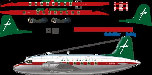 1/144 Scale Decal Air Safaris Viking 1B