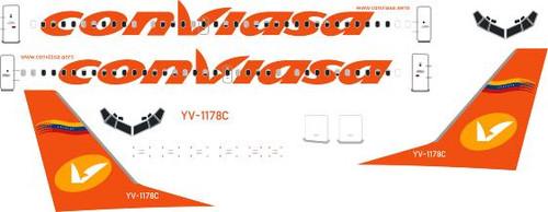 1/144 Scale Decal Conviasa 737-300