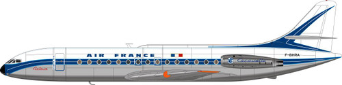 1/144 Scale Decal Air France Caravelle