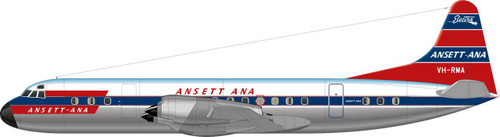 1/144 Scale Decal Ansett-ANA Electra