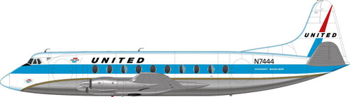 1/144 Scale Decal United Viscount 700