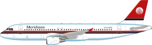 1/144 Scale Decal Meridiana A-320