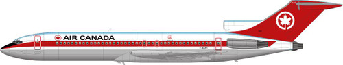 1/144 Scale Decal Air Canada 727-200 Delivery