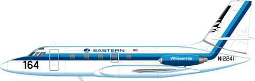1/144 Scale Decal Eastern JetStar