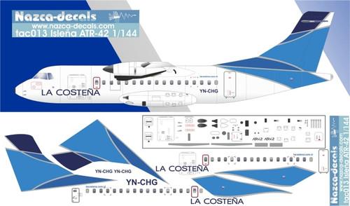 1/144 Scale Decal La Costena ATR-42