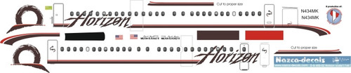 1/144 Scale Decal Horizon Dash 8-400