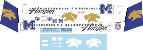 1/144 Scale Decal Horizon Dash 8-400 Montana University Cats