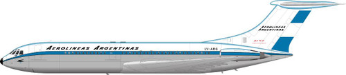 1/144 Scale Decal Aerolineas Argentinas VC-10