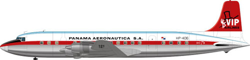 1/144 Scale Decal VIP Panama DC-7