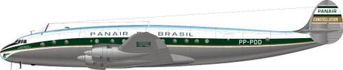 1/144 Scale Decal Panair Do Brasil 749 Constellation