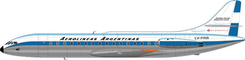 1/144 Scale Decal Aerolineas Argentinas Caravelle