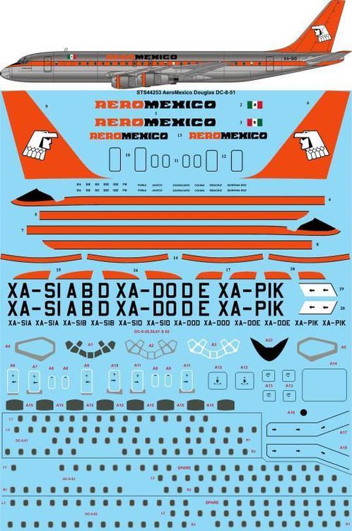 Douglas DC-8 TAI  decal 1\100