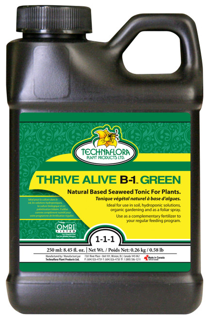 Technaflora® Thrive Alive B-1 Green