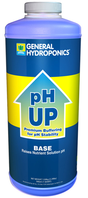 General Hydroponics® pH Up Liquid