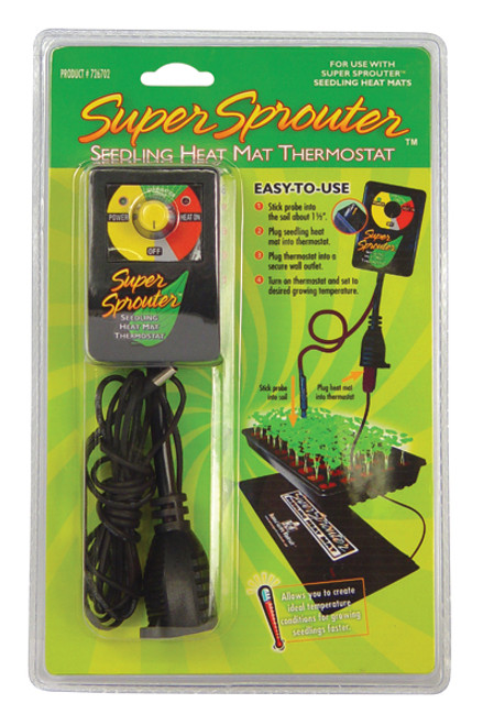 Super Sprouter® Seedling Heat Mat Thermostat