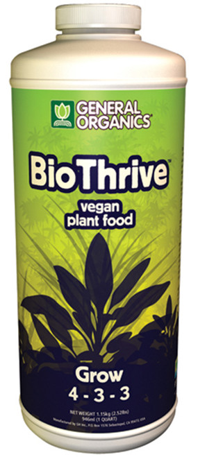 General Hydroponics® BioThrive® Grow