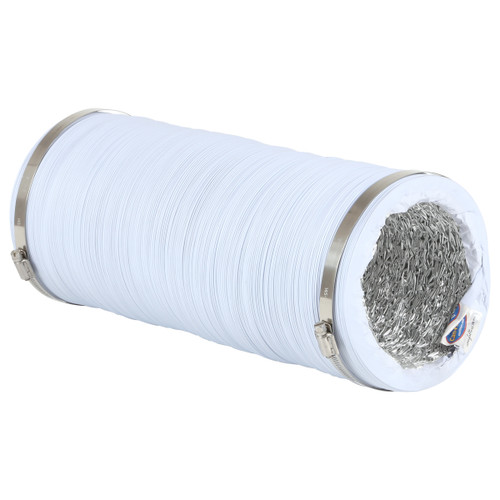 Max-Duct White Vinyl Ducting