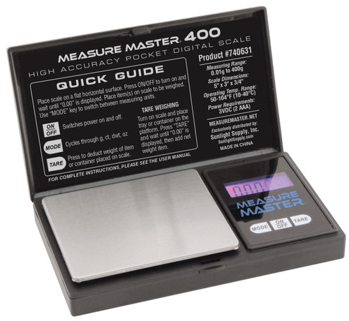 Measure Master® 400 g High Accuracy Digital Scale