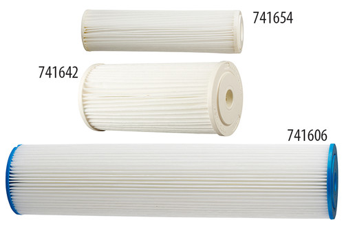 Hydro-Logic® Pleated/Cleanable Sediment Filters