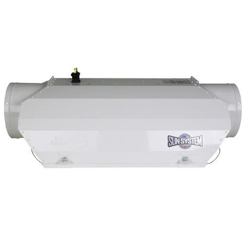 AC/DE® Double-Ended Air-Cooled Reflector 8 in