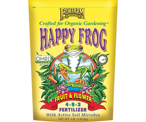 FoxFarm Happy Frog® Fruit & Flower Fertilizer, 4 lb bag